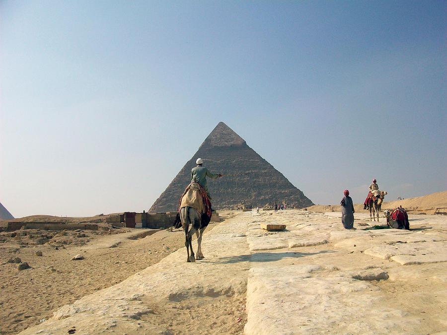 Egypt - Pyramid3 Photograph