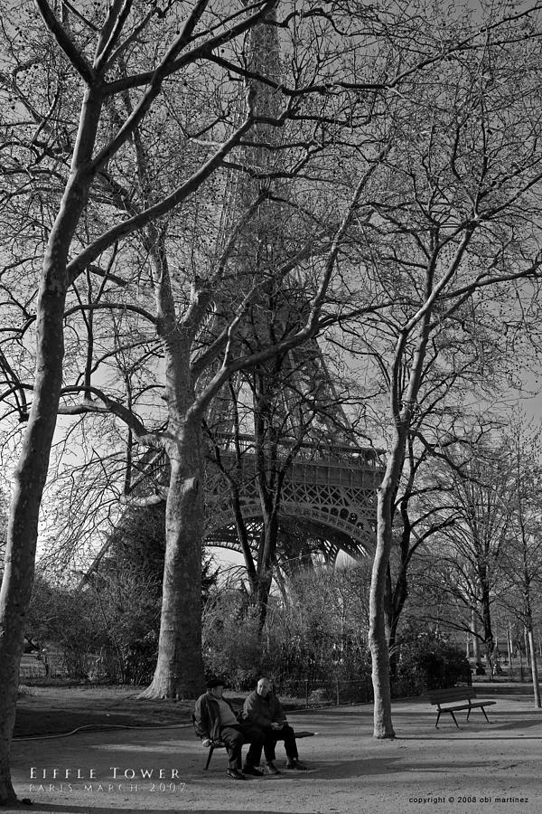 Eiffel Tower Photograph - Eiffel Tower by Obi Martinez