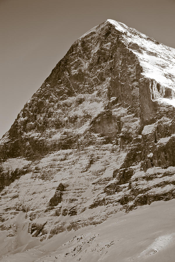 Eiger North Face Photograph