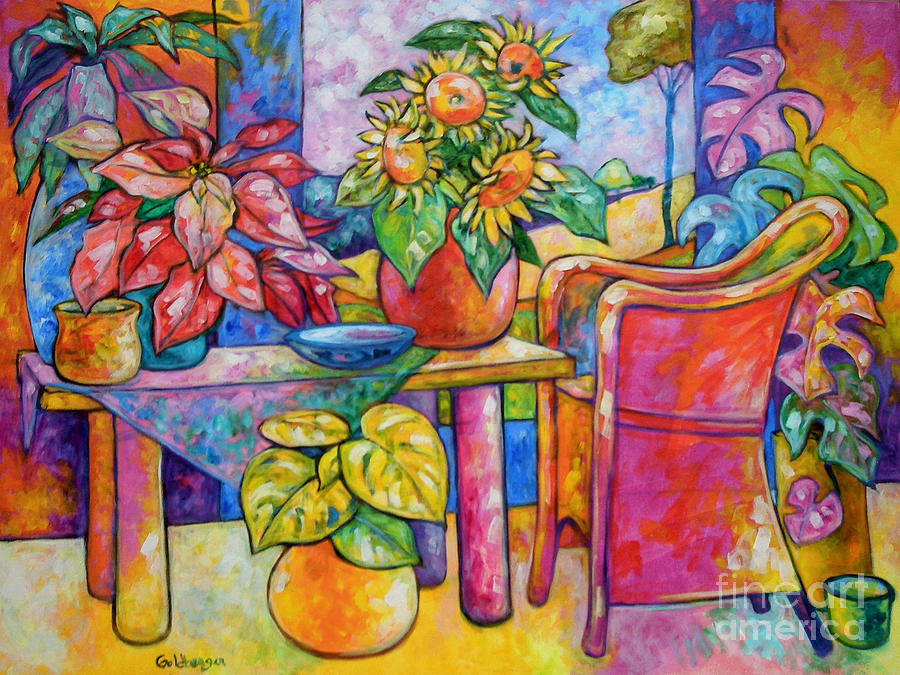 Representational Painting - Eighteen Past Twelve by Ana Goldberger