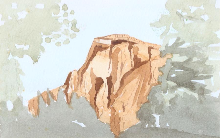 El Capitan Painting - El Capitan by Jim Green