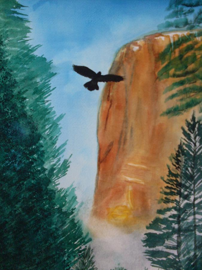 El Capitan Yosemite National Park Painting