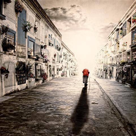 Digital Art - El Ultimo Paseo by Luis  Beltran