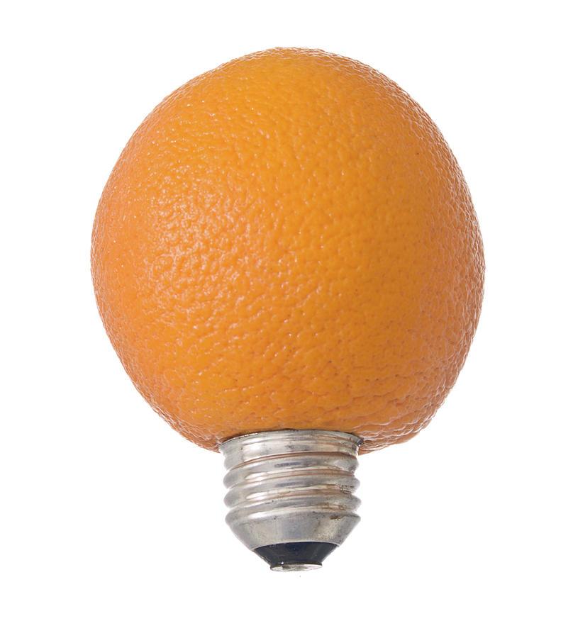 Italy Photograph - Electric Orange by Jim DeLillo