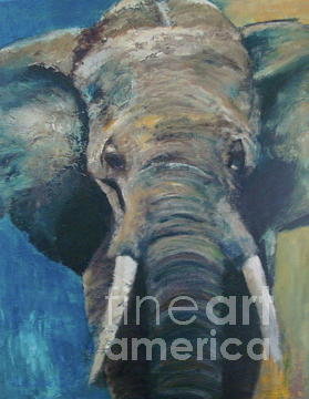 Elefant Painting - Elefant by Elisabeth De Vries