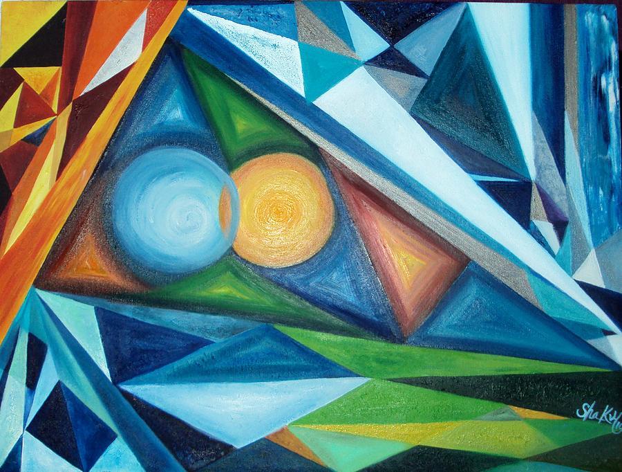 Elemental Future Painting