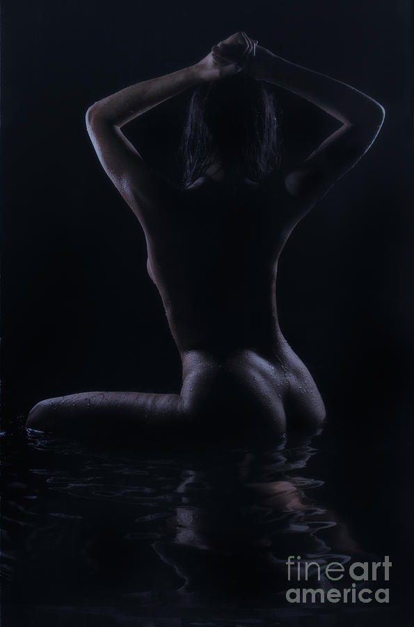 Nude Photograph - Elements by Naman Imagery