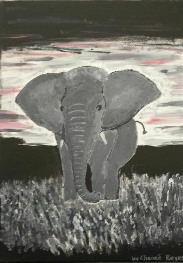 Elephant Love Painting by Chenee Reyes - photo#9