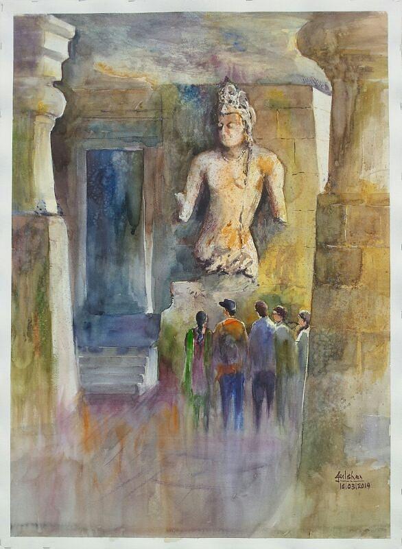 elephanta caves paintings -#main