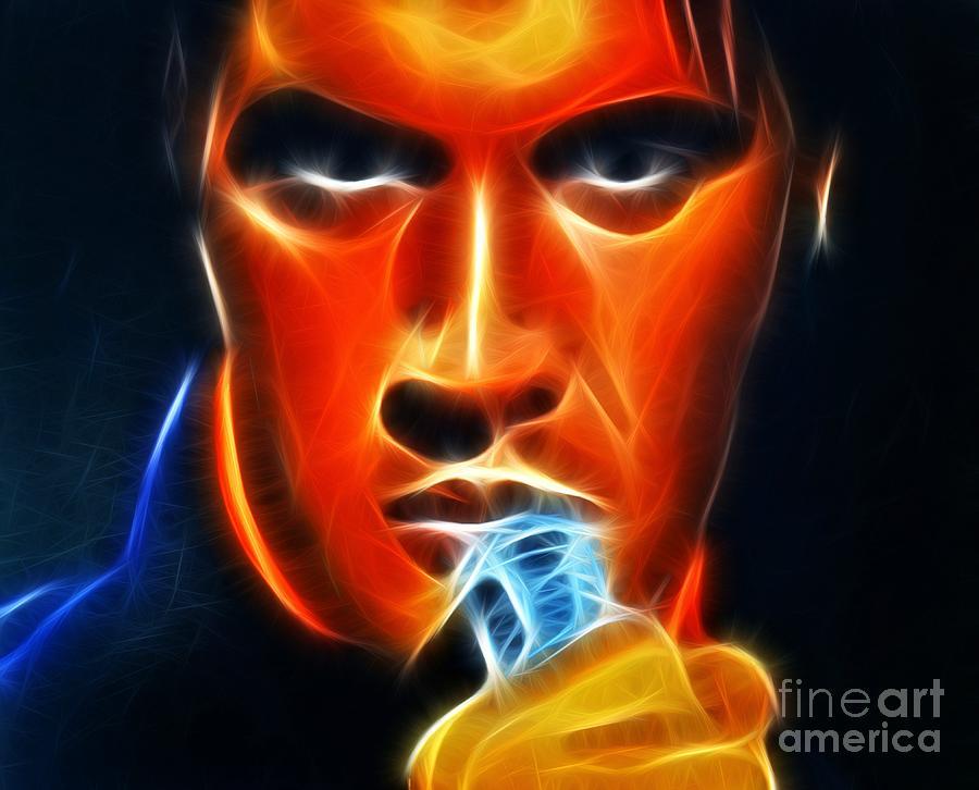 Elvis Presley Mixed Media