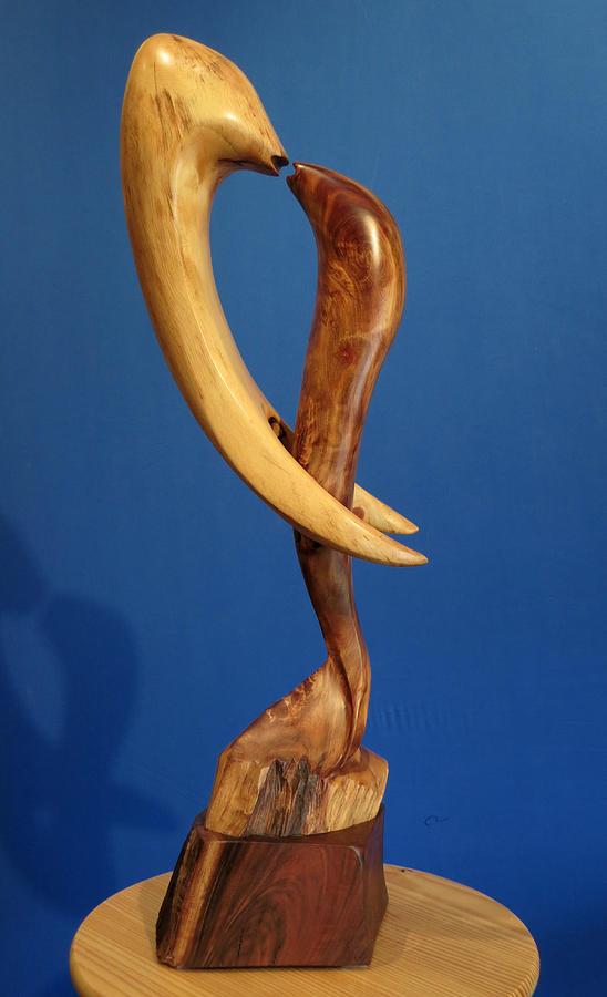 Embrace Sculpture - Embrace II by Windy Dankoff