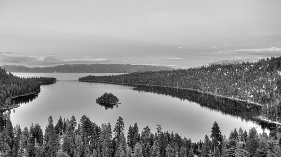 Nature Photograph - Emerald Bay Lake Tahoe by Brad Scott