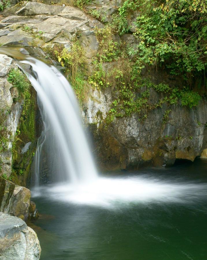 Waterfall Photograph - Emerald Falls by Marty Koch