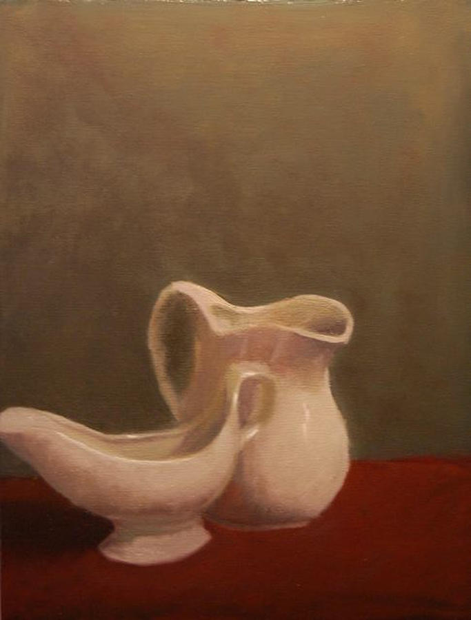 Ceramic Painting - Emergence Of Ceramic by Krishnamurthy S
