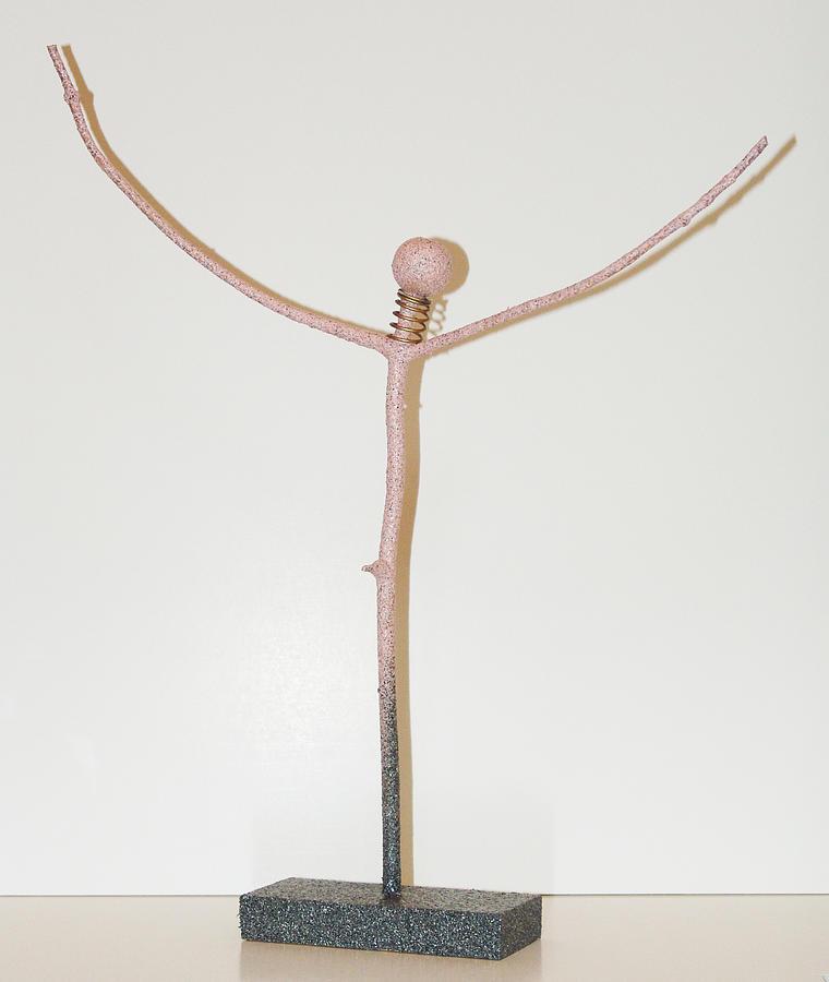 Man Sculpture - Emerging Man by Kevin Callahan