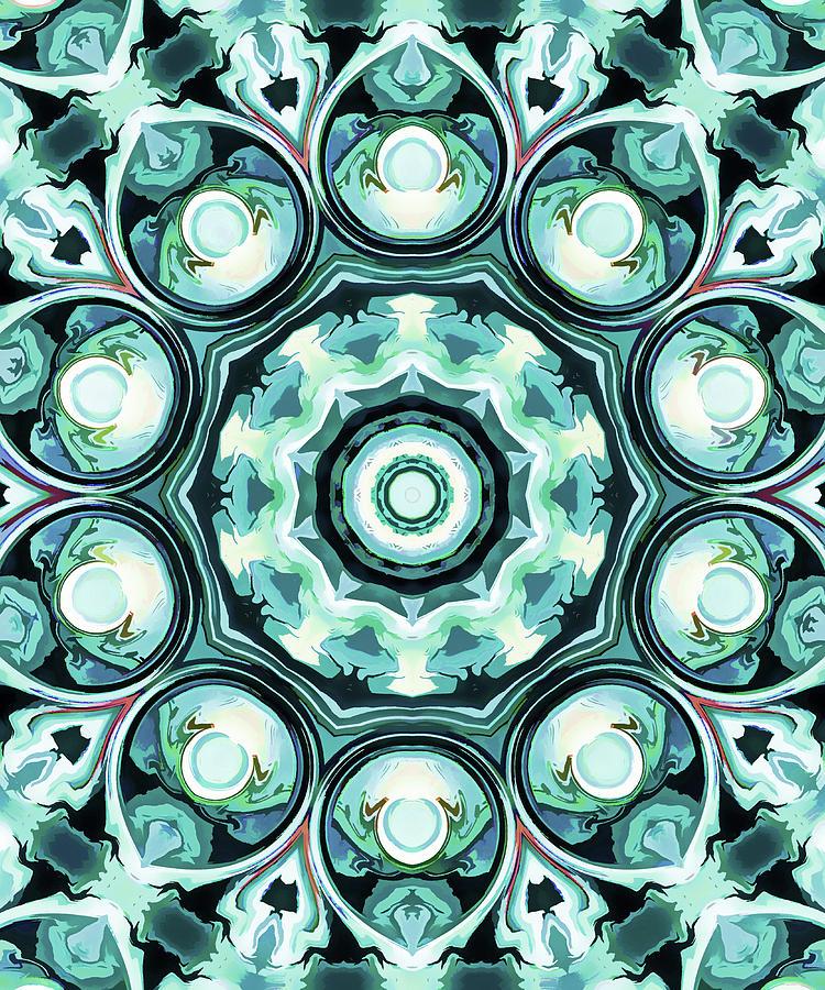 Mandala Art  Painting - Emotions by Lanjee Chee