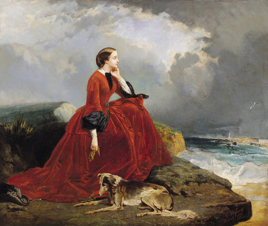 Empress Eugenie Painting