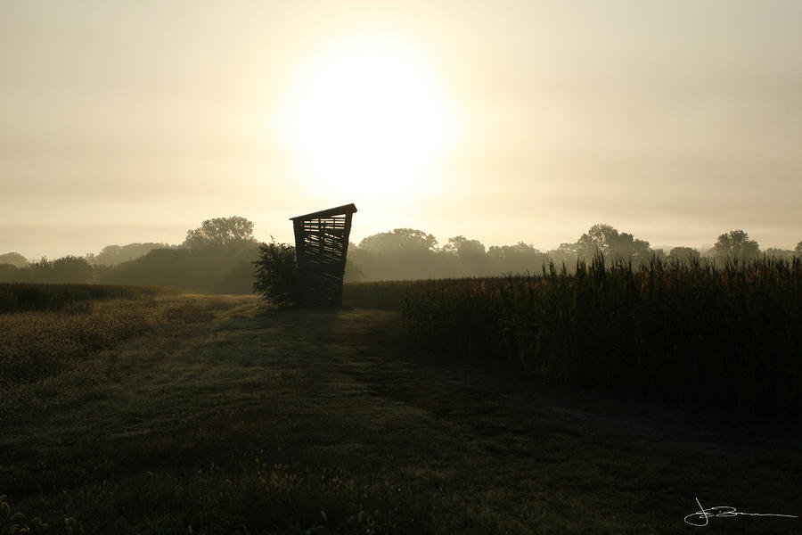 Farm Photograph - Empty Bin by Jim Bunstock