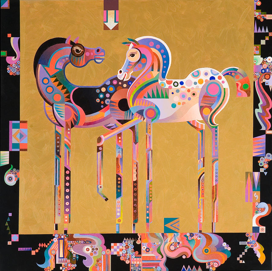 Equine Art Painting - Enchanted by Bob Coonts