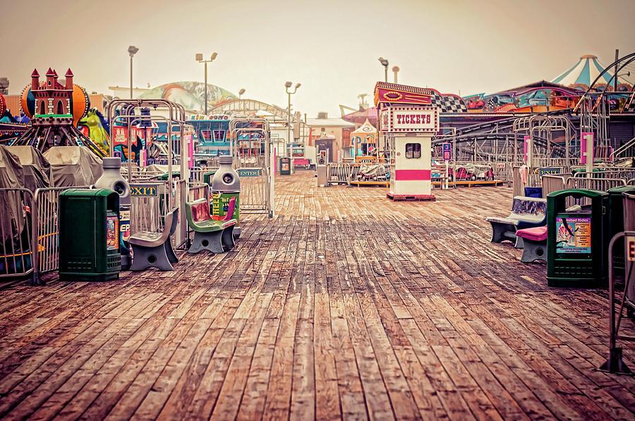 Boardwalk Photograph - End Of Summer by Heather Applegate
