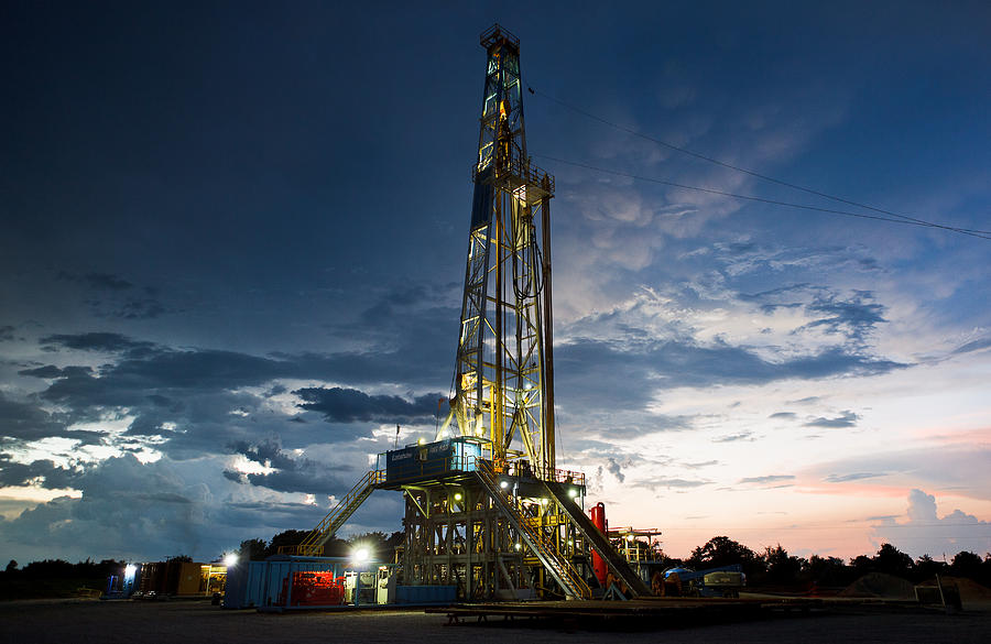 Driller Photograph - End Of The Hitch by Jonas Wingfield