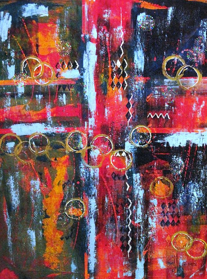 Abstract Painting - Endless Highway by David Raderstorf