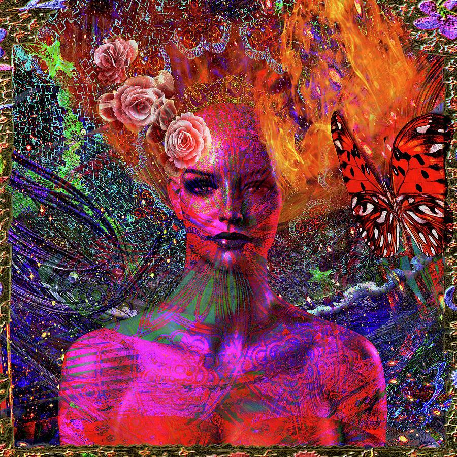 Energy Meridian Digital Art