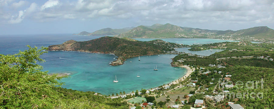 Antigua Photograph - English Harbour Antigua by John Edwards