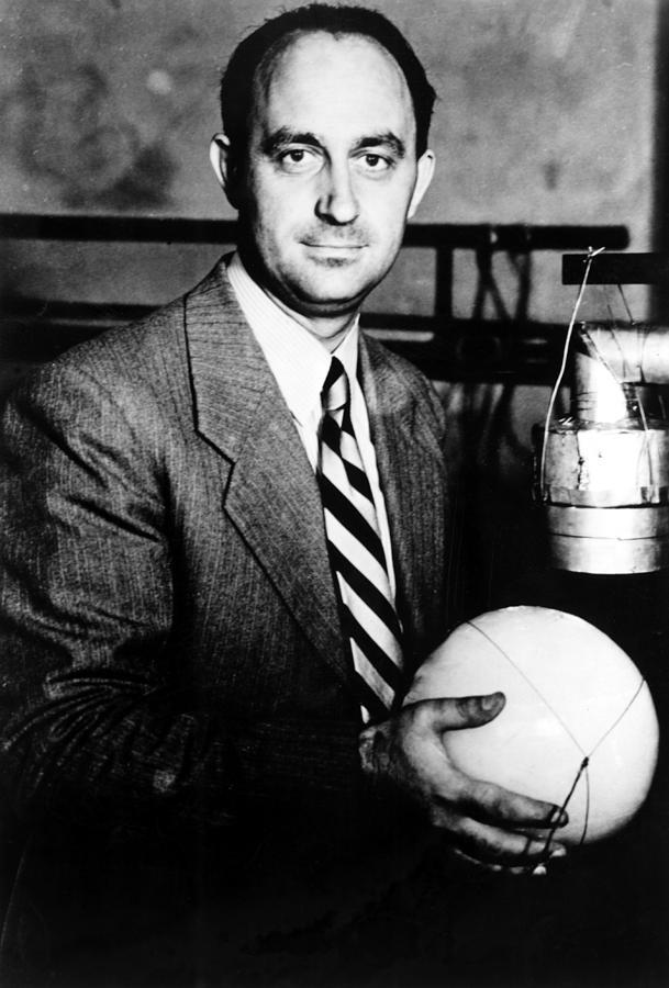 Atomic Bomb Photograph - Enrico Fermi, 1901-54 Nobel Prize by Everett