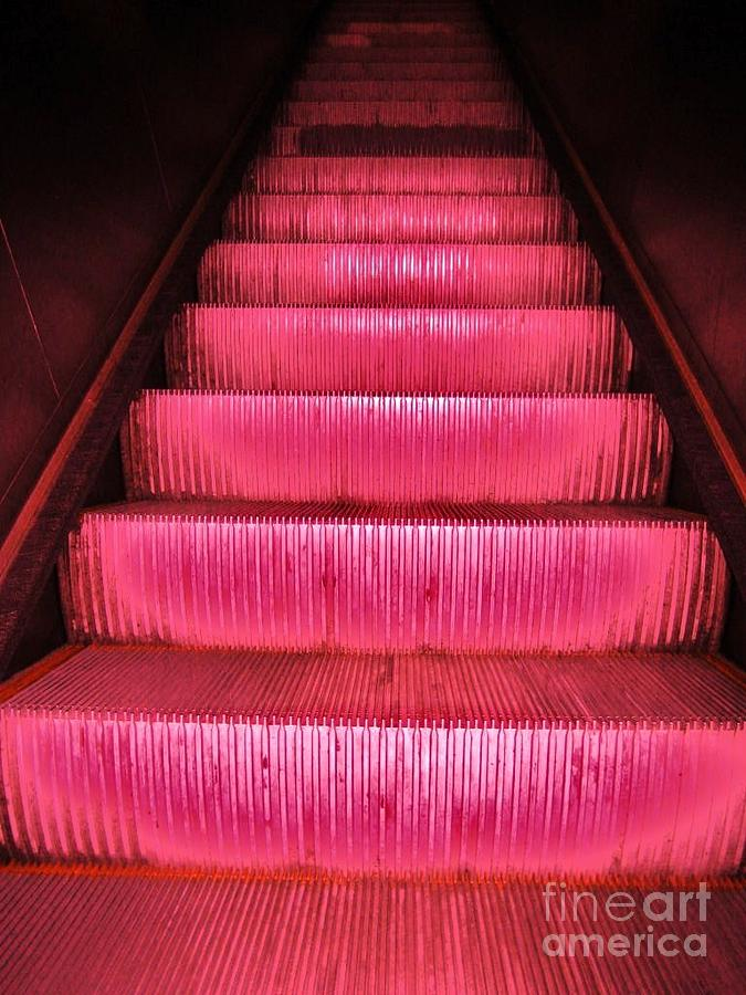 Photographs Photograph - Escalier by Reb Frost