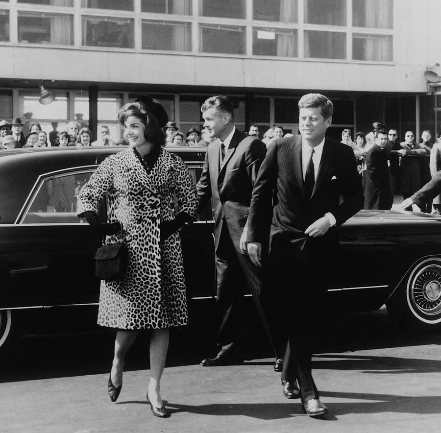 Washington Photograph - Escorted By President Kennedy by Everett