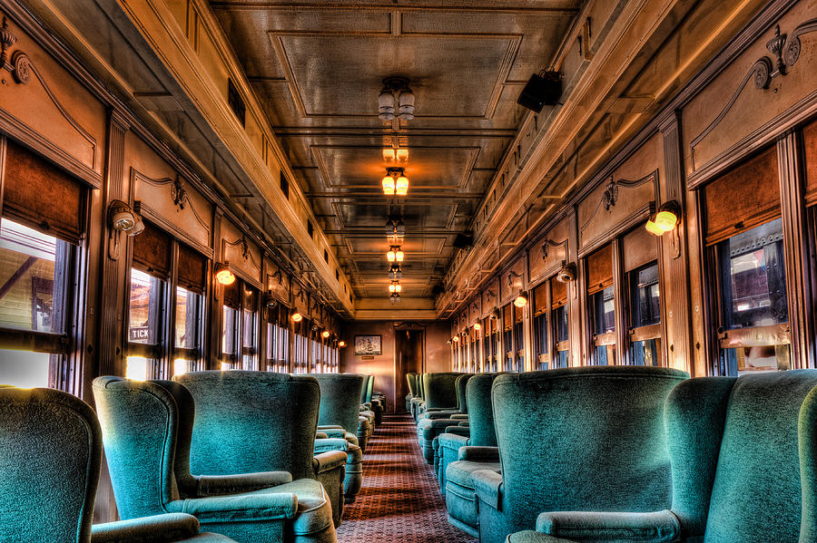 essex steamtrain parlor car photograph by mike dooley. Black Bedroom Furniture Sets. Home Design Ideas
