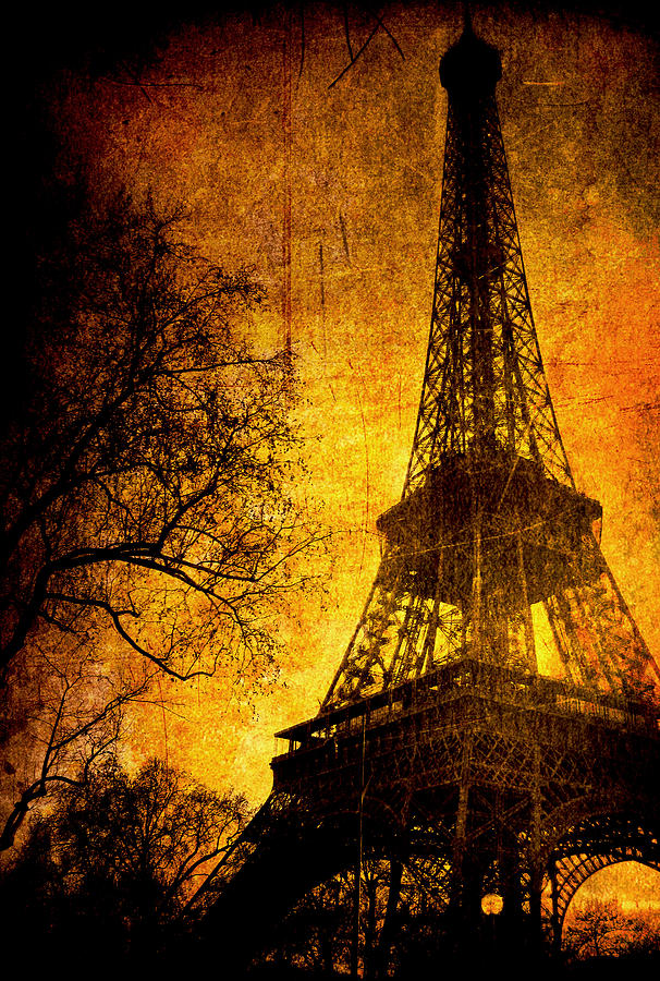 Eiffel Photograph - Esthetic Luster by Andrew Paranavitana