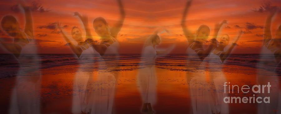 Dance Photograph - Eternal Dance by Jeff Breiman