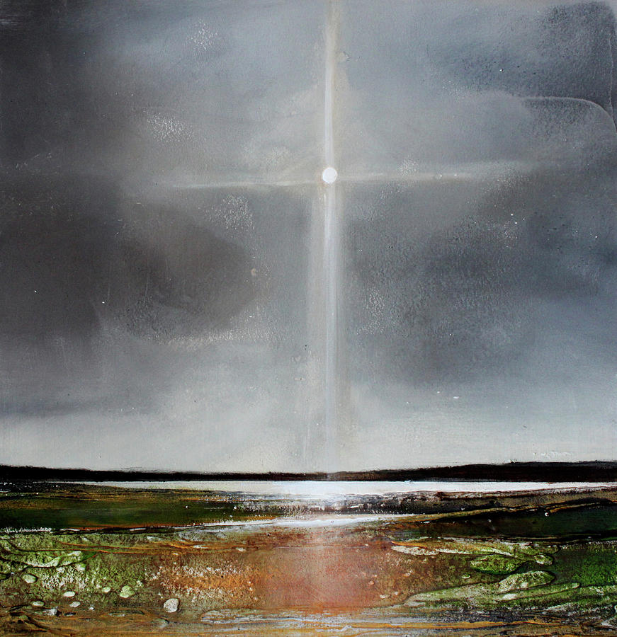 Spiritual Painting - Eternal Hope  by Toni Grote