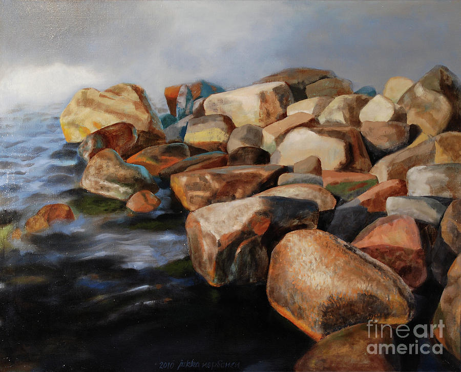 Stones Painting - Eternal Things by Jukka Nopsanen