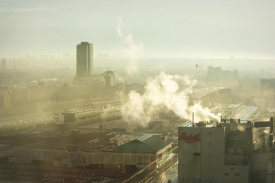 Evanescent Light On Fog Photograph