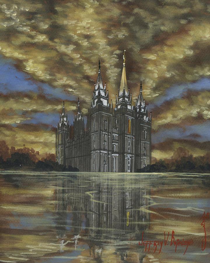 Evening Glory Painting