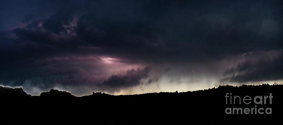 Landscape Photograph - Evening Storm 2 by Terril Heilman