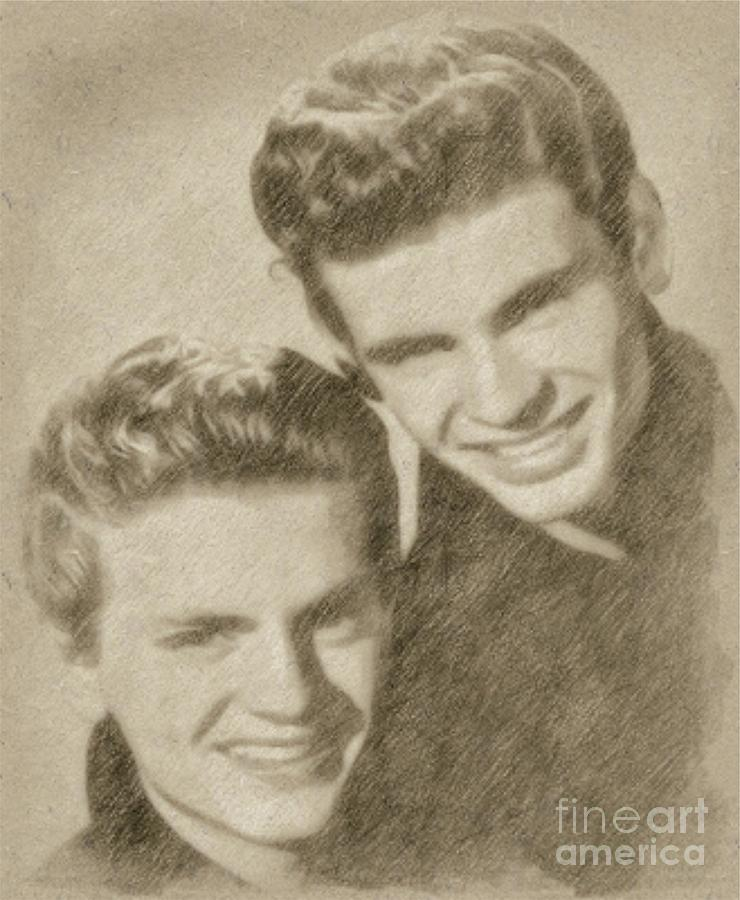 Everly Brothers Drawing