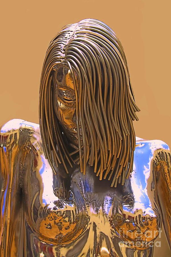 Evolution Of Eve Sculpture - Evolution Of Eve by Viktor Savchenko