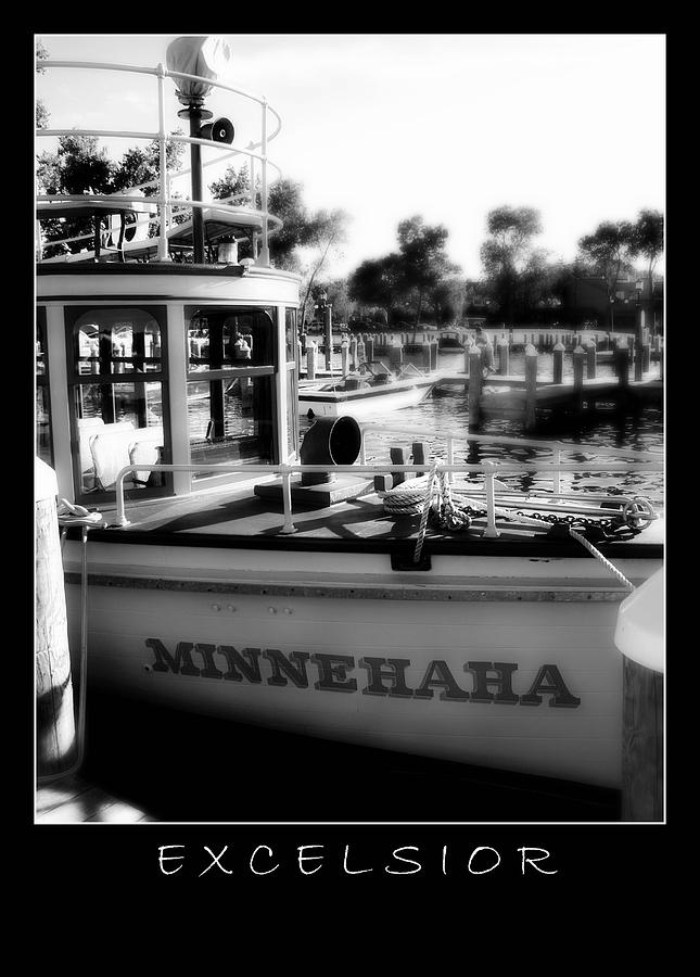 Boat Photograph - Excelsior 2 by Perry Webster