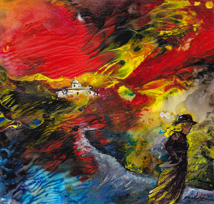 Impressionism Painting - Expelled From The Land by Miki De Goodaboom