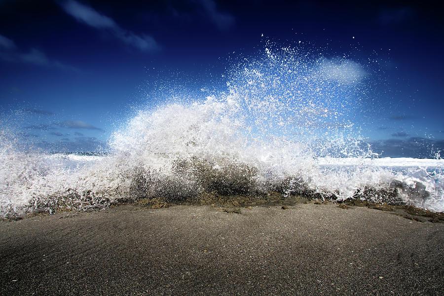 Exploding Seas Photograph