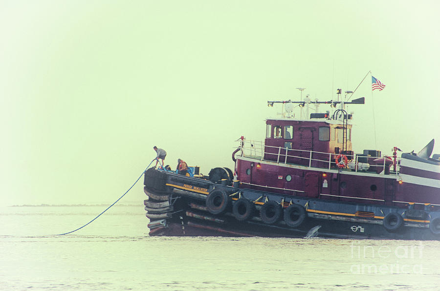 Extend The Tow Line Photograph