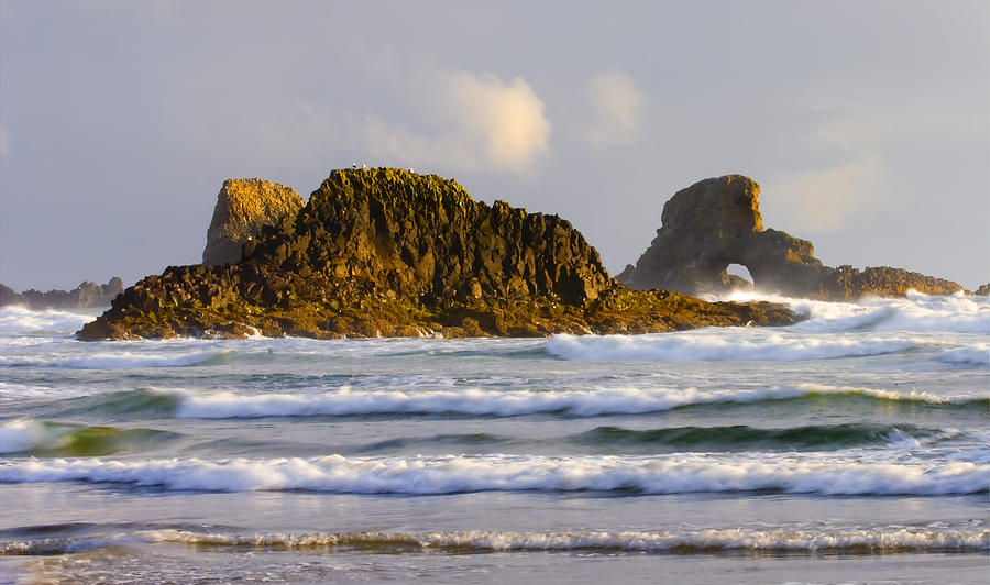 Seastacks Photograph - Eye Of The Storm by Mike  Dawson