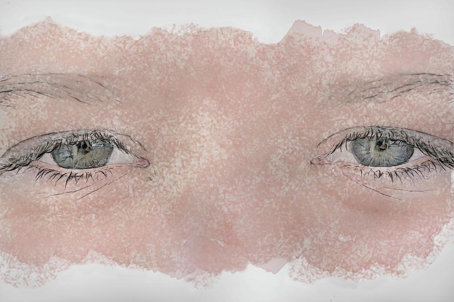 Eye Digital Art - Eyes Of Youth by Randy Steele