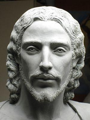 Jesus Sculpture - Face Of Jesus by Patrick RANKIN