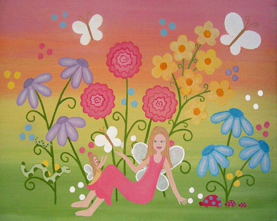 Fairy Garden Painting ...