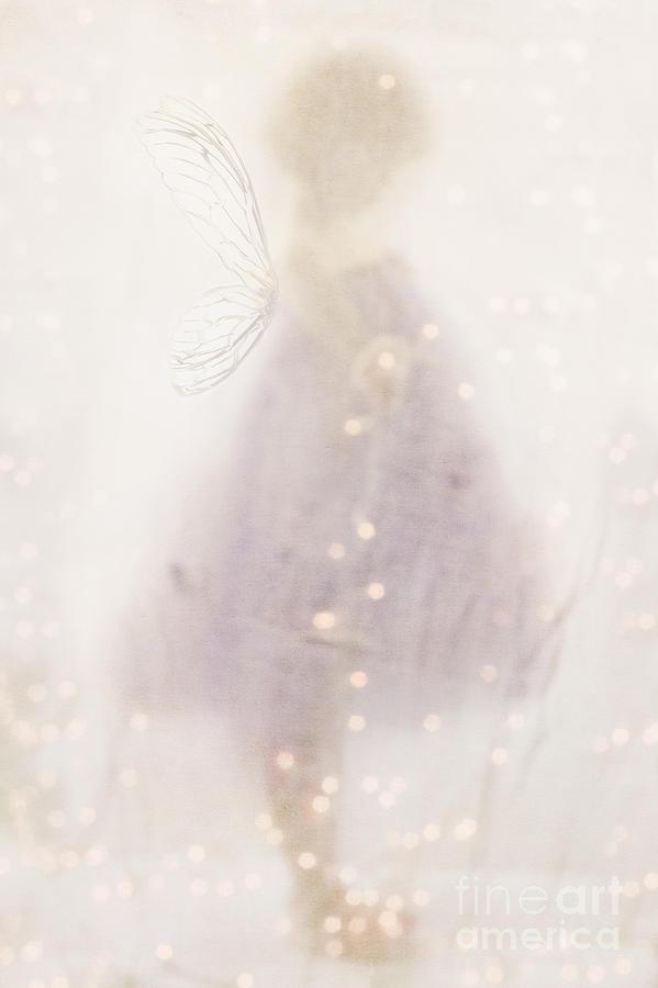 Head Down Photograph - Fairy Lights by Stephanie Frey